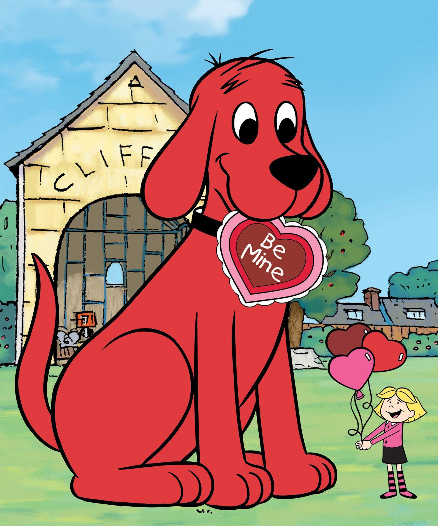 Bonito Clifford El Perro Rojo Grande Para Colorear Imprimible ...