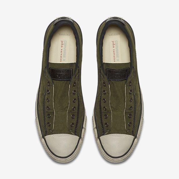 fcb894070c3051 Converse x John Varvatos Chuck Taylor All Star Vintage Low Top Unisex  Slip-On Shoe