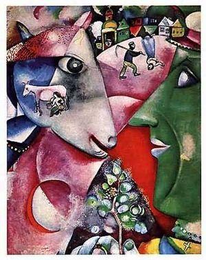 フランスの画家】マルク・シャガールの作品画像集 - NAVER まとめ ...