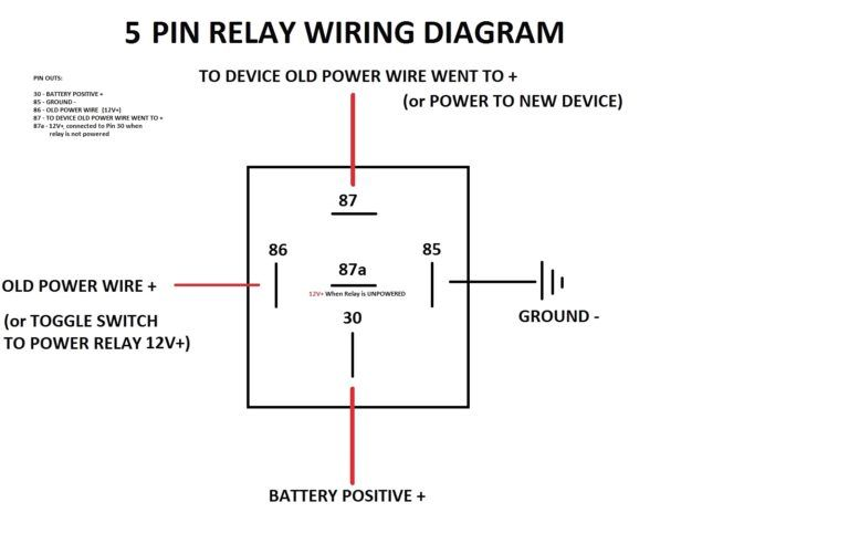 12v Changeover Relay Wiring Diagram Auto Beautiful 12 Volt Ansis Throughout 12v In 12 Volt Relay Wiring Diagram In 2020 Circuit Diagram Relay Electrical Diagram