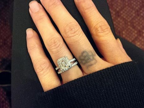 Show Me Your Engagement Ring And Wedding Band Gap Non Flush