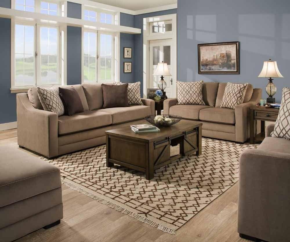 Best Simmons Upholstery Abbington 4 Piece Living Room Set 400 x 300