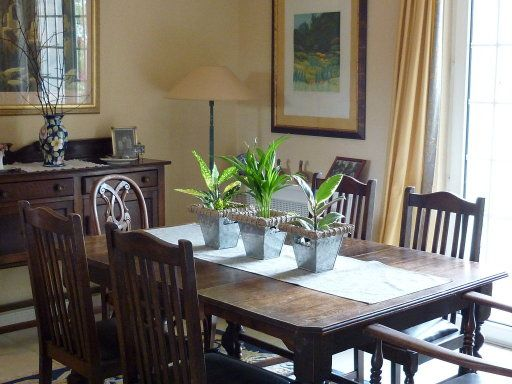 Adornos para mesas de comedor buscar con google hogar for Decorar una mesa de comedor de cristal
