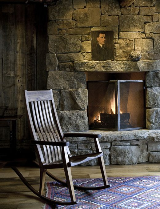 Mountain Retreat Fireplace Pictures Cabin Fireplace Rock Fireplaces
