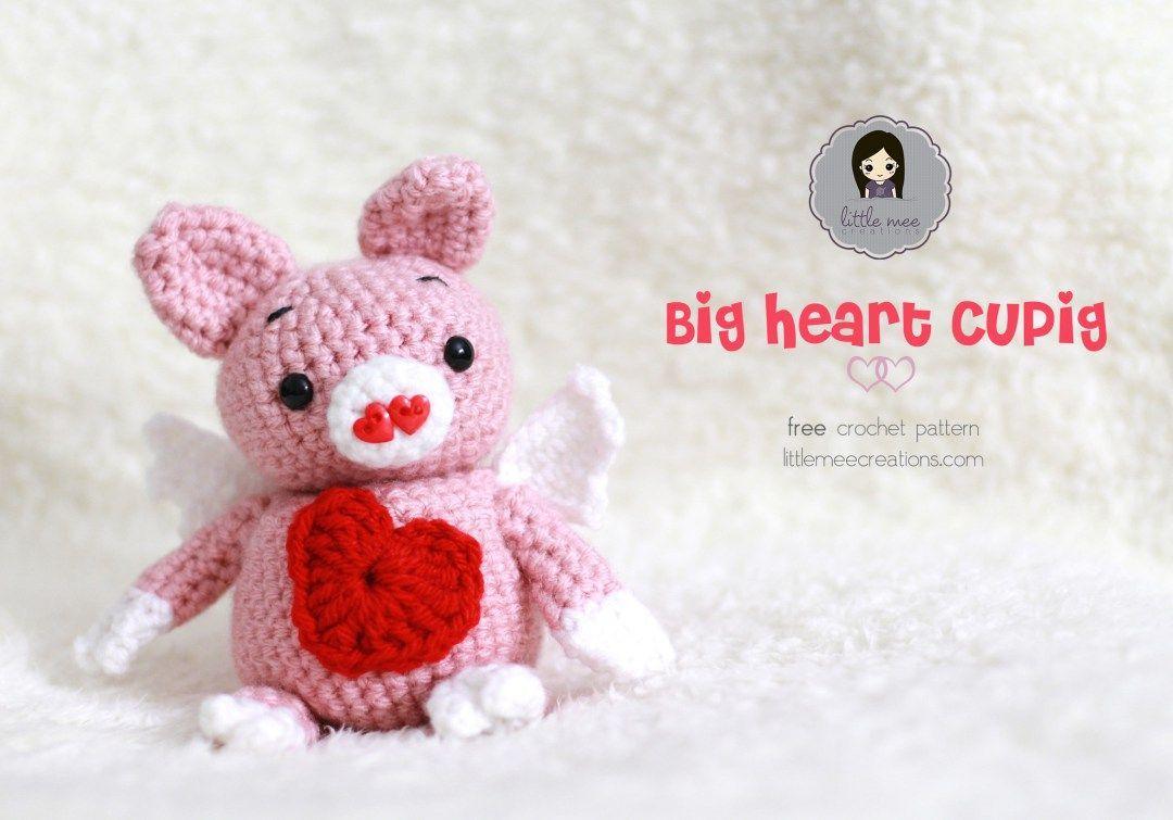 Large crochet heart   Valentines crochet, Crochet heart pattern ...   755x1080