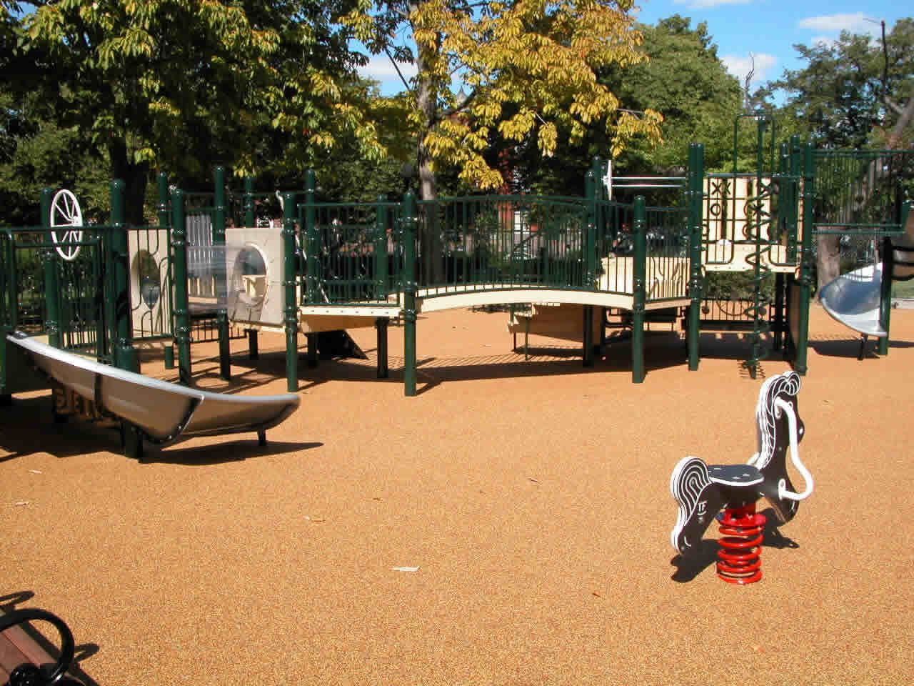 Playground Composition And Space Playground Environment Composition