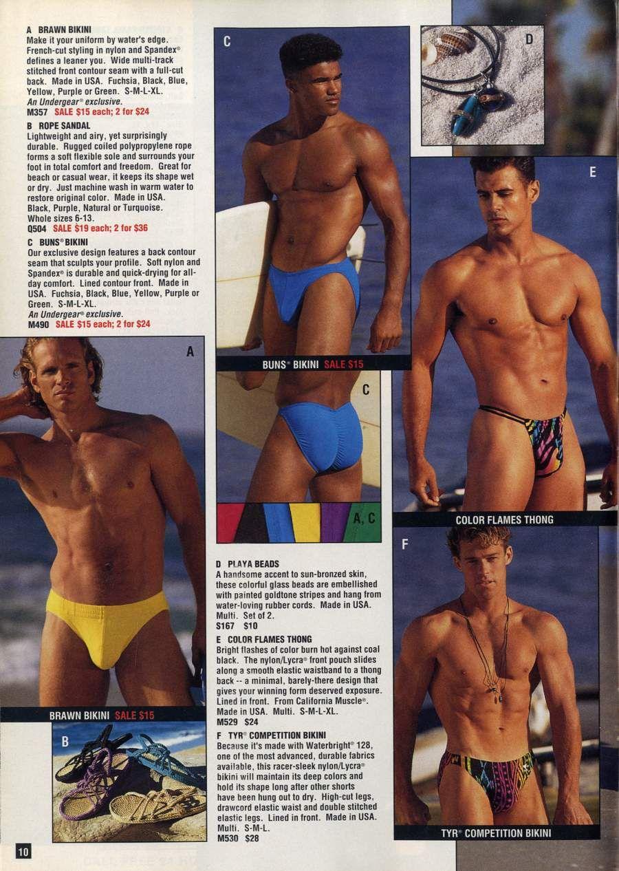 db551db277c9 Undergear | 80's / 90's Men's underwear & swimwear in 2019 | Men's ...
