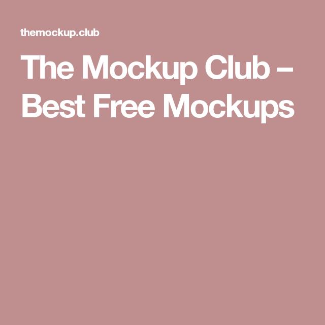 The Mockup Club Best Free Mockups Design Mockup Free Free Mockup Mockup