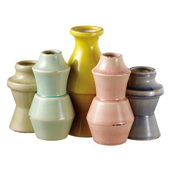 Nesting Vases Set Of 5 47 Liked On Polyvore Featuring Home