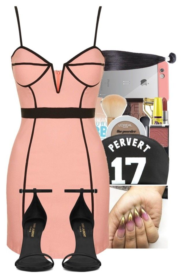"""Untitled #1139"" by kandykuahgoddess on Polyvore featuring LifeProof, NARS Cosmetics, Rare London and Yves Saint Laurent"