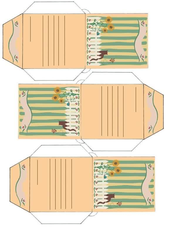 Free Printable Envelope Templates  Small Seed Envelopes  Print