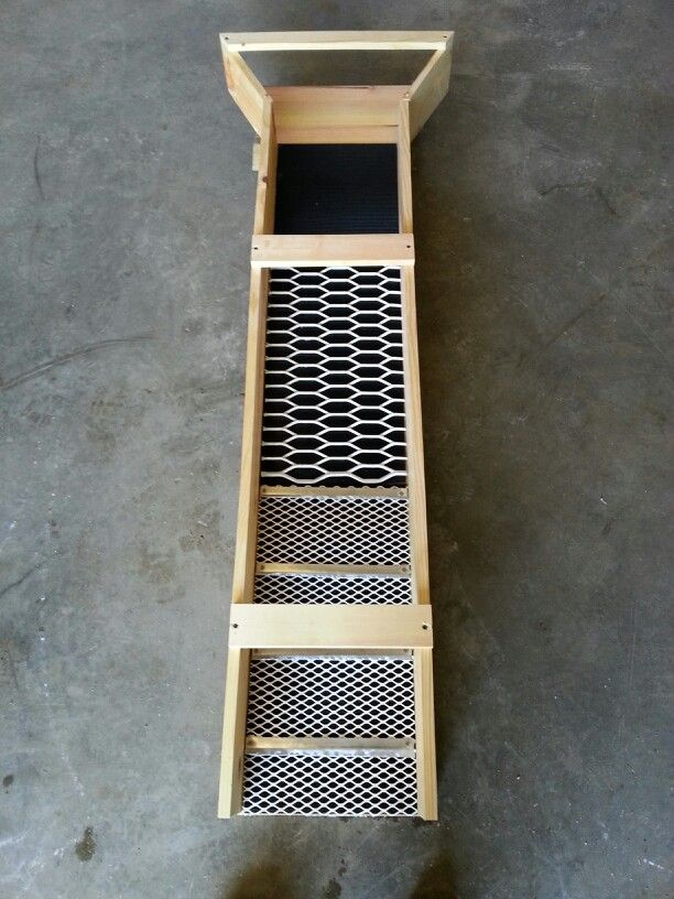 Sluice Box All From Scraps Ideas To Build Pinterest