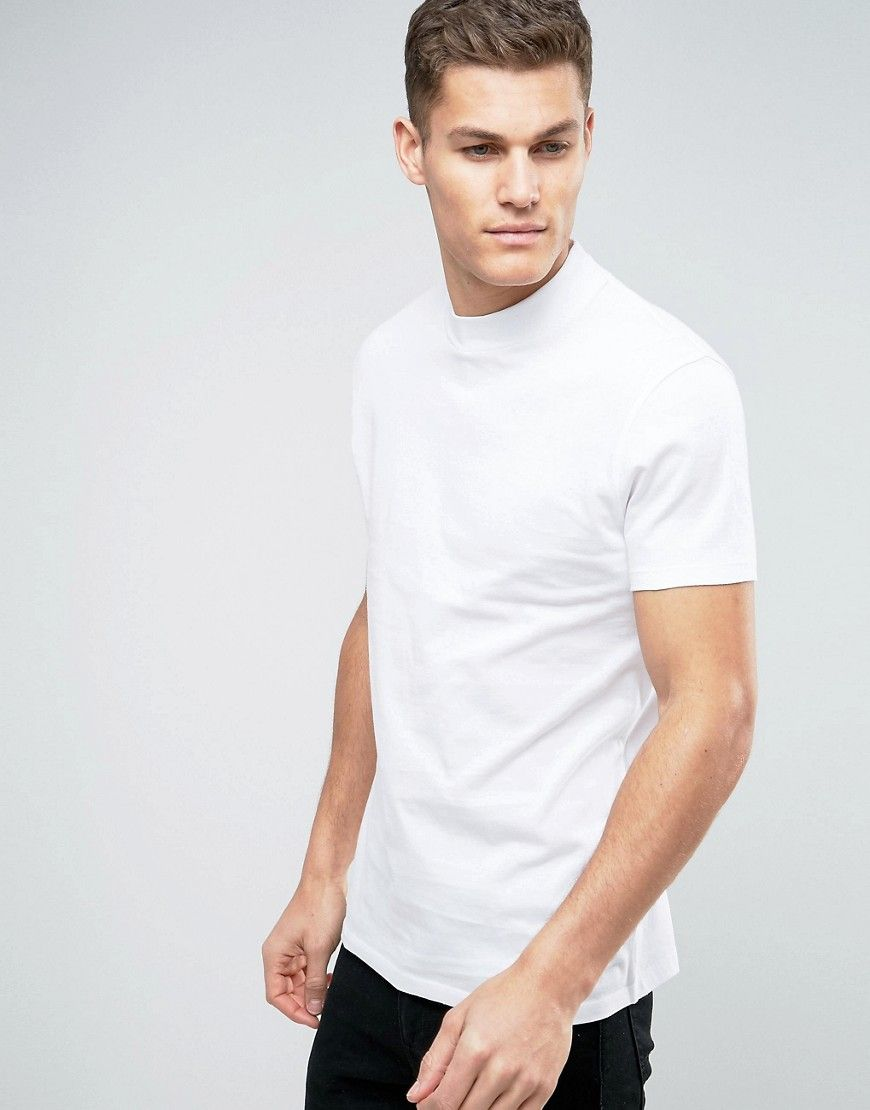 new hot sale online shop Relaxed Skater T-Shirt with High Neck | Men's clothes in ...