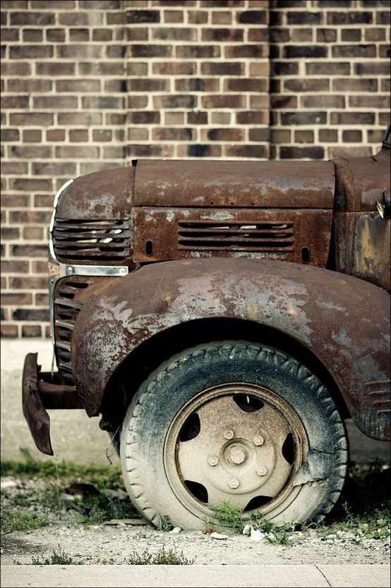 old truck ...