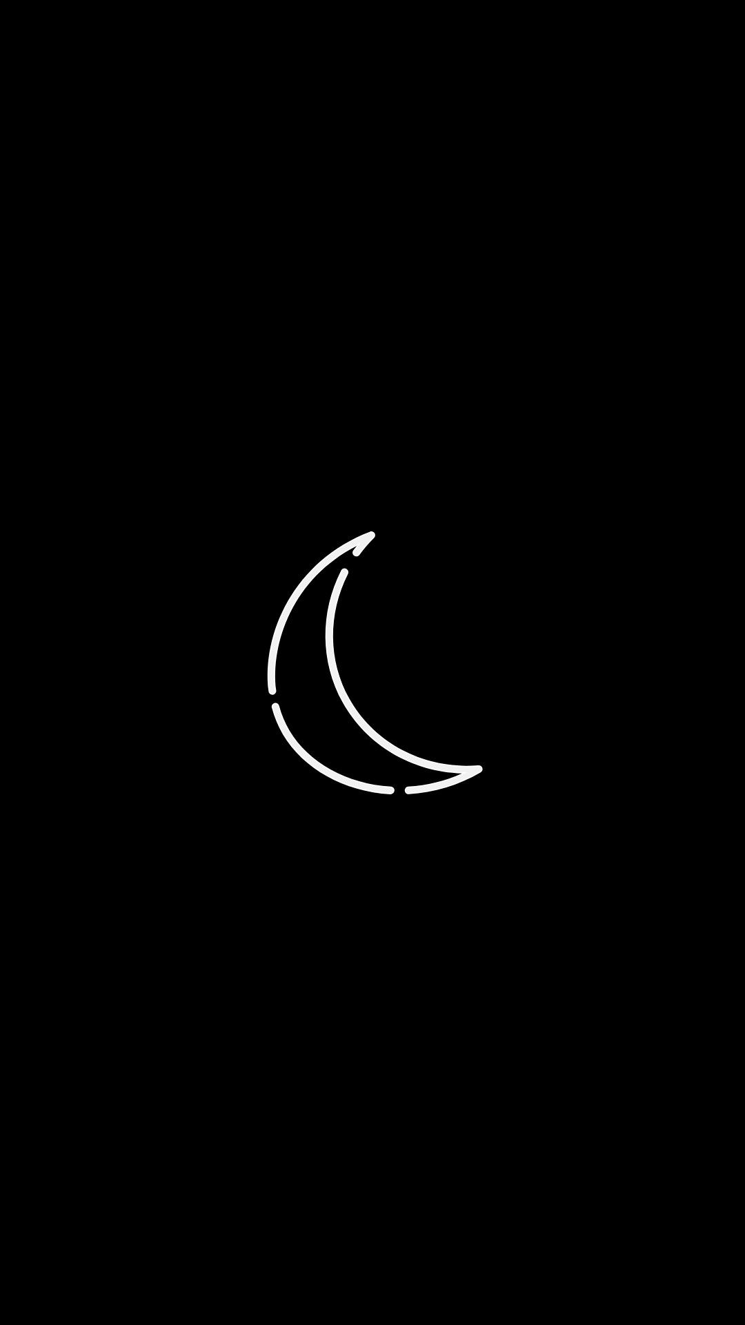 The Moon And Its Phases Black Background Minimalist Wallpaper In 2021 Minimalist Wallpaper Black Backgrounds Background