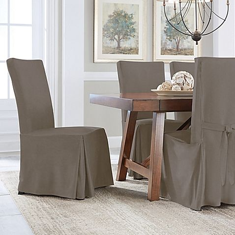 Perfect Fit® Smooth Suede Relaxed Fit Dining Chair ...