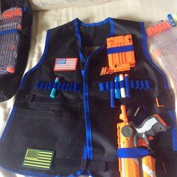 MageCraft Elite Tactical Vest Kit For Nerf N-strike Elite Series,Nerf Super Soaker Series