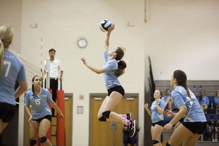 Starting To Believe Eagles Volleyball Matures As They Gain Experience Volleyball Believe Competing