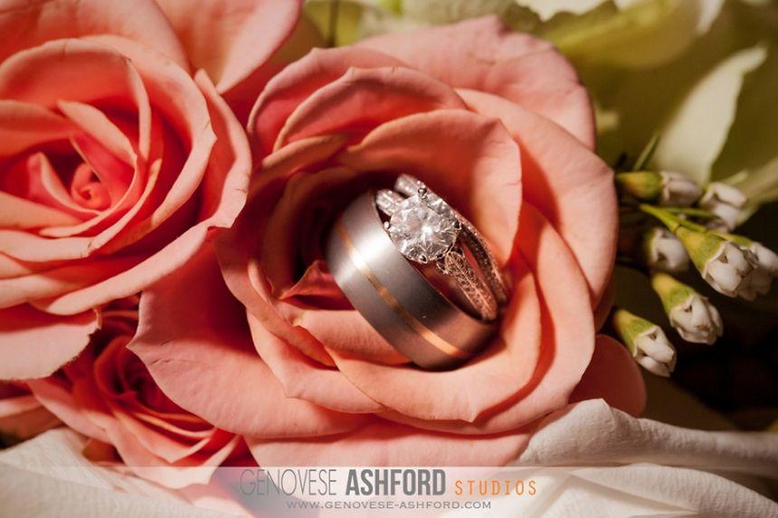 Wedding Rings Hannah BJs Wedding St Landry Church