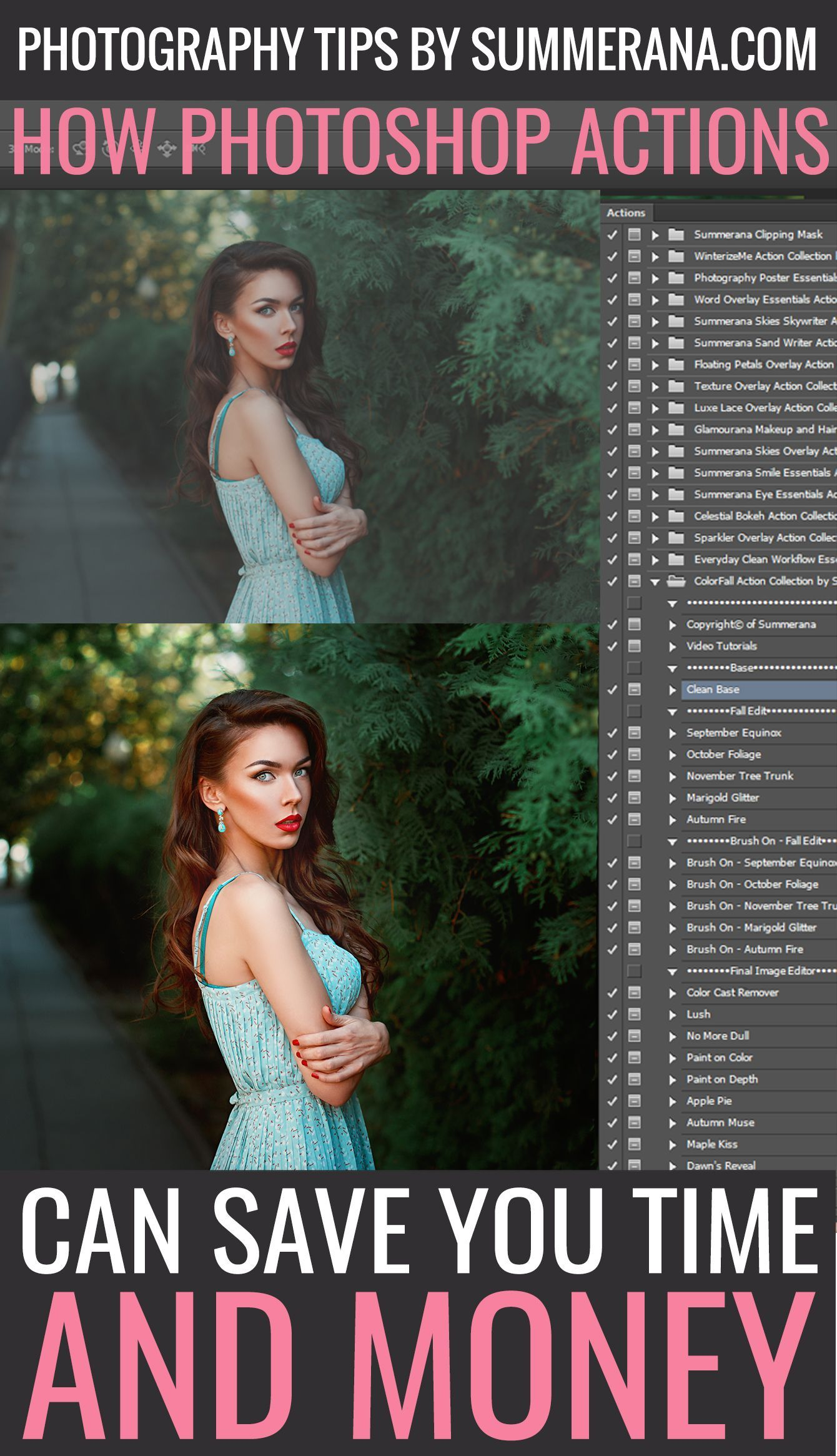 Photoshop Actions – Saving And Loading Actions