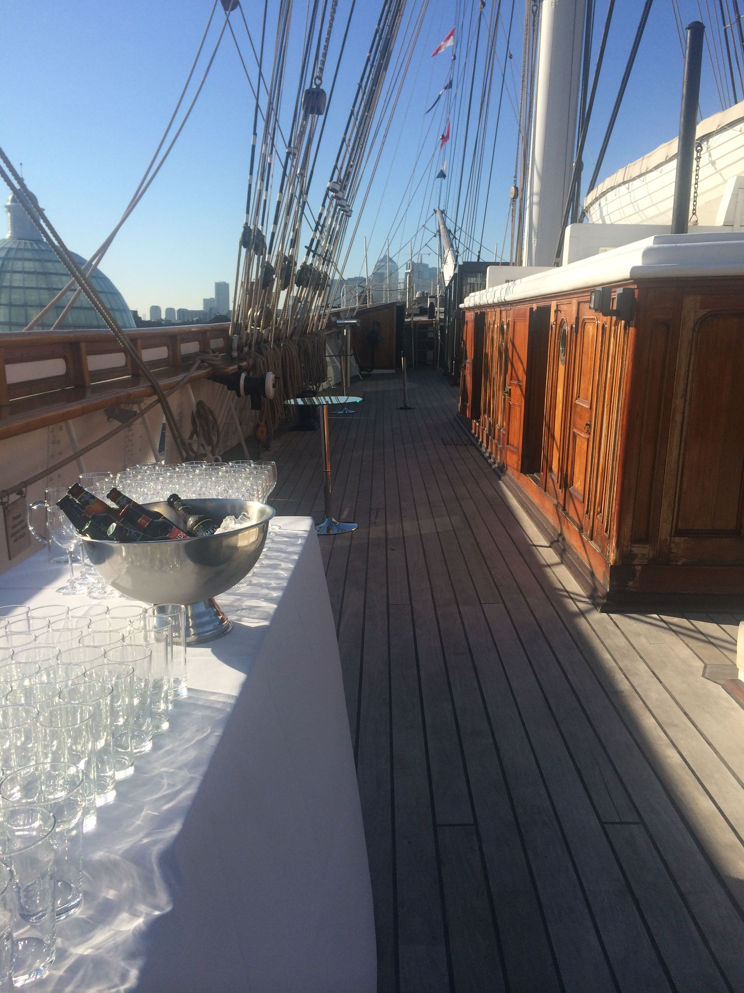 Cutty Sark Weather Deck Bar Deck Bar Boat Interior Deck