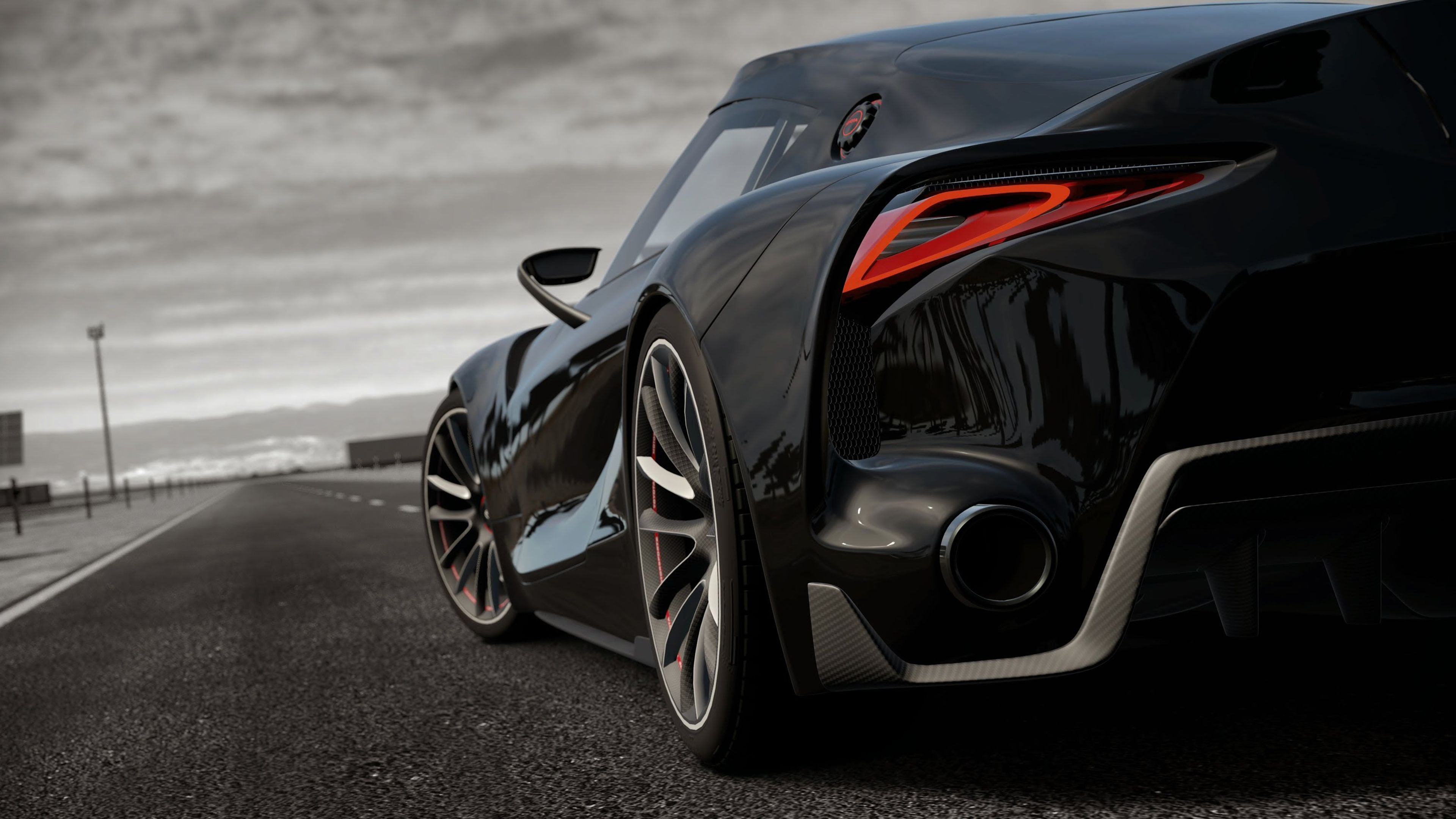 Cool Black Toyota Ft 1 Cars Pinterest Toyota Cars And Super Cars