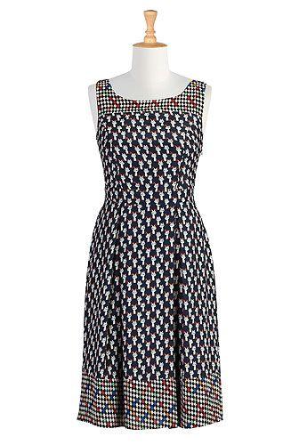9d1c69f1eeb eShakti Puddy tat print dress