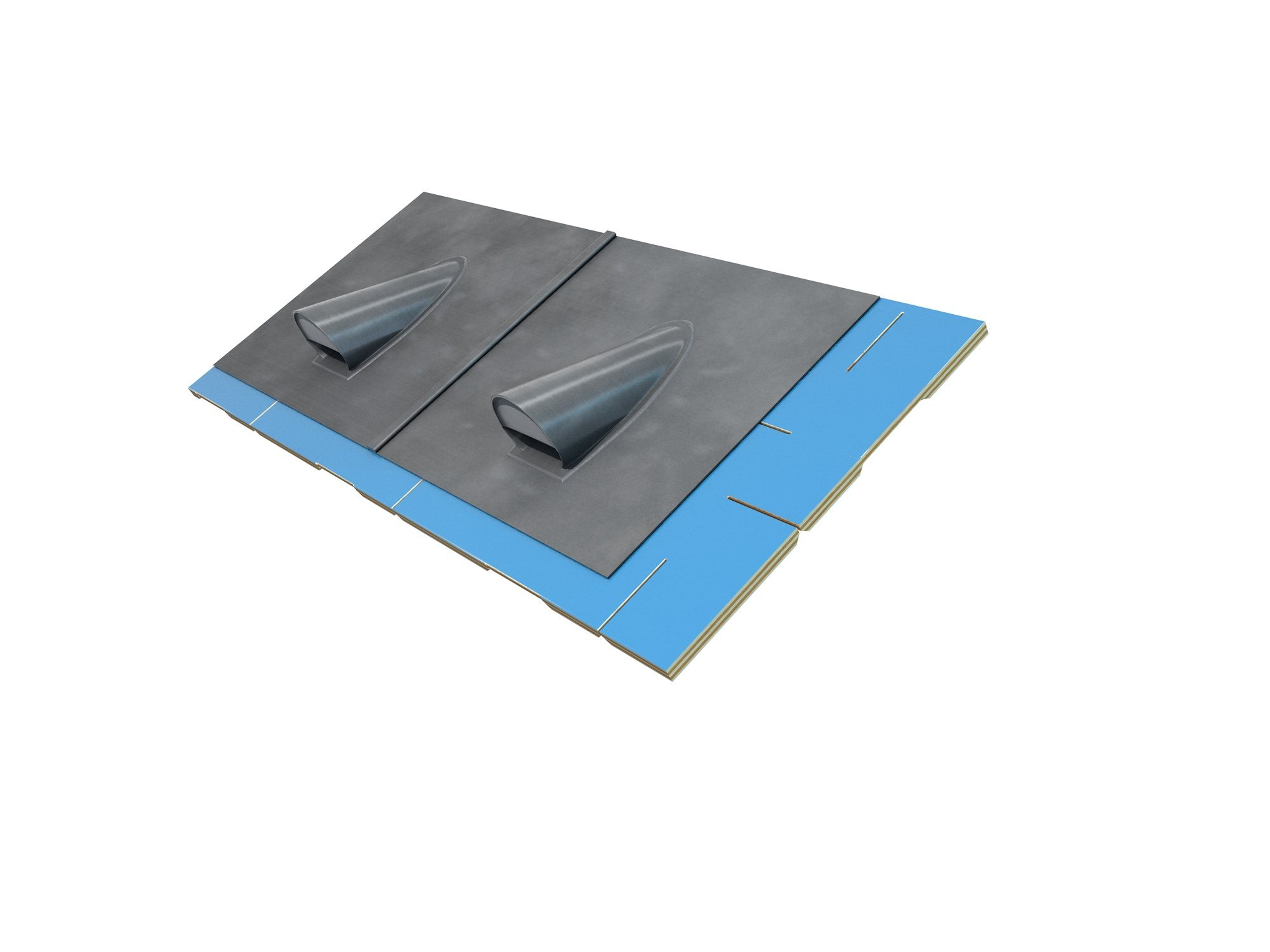 The pitched roof ventilator is designed for providing