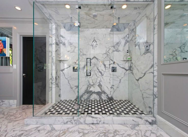 127 Best Images About Decorating Jeff Lewis On Pinterest Shower Tiles Marble Showers And Cabinets