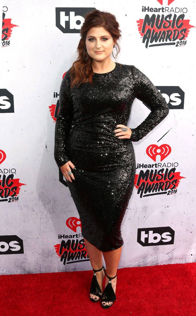 Meghan Trainor: iheartradio-music-awards-2016-red-carpet