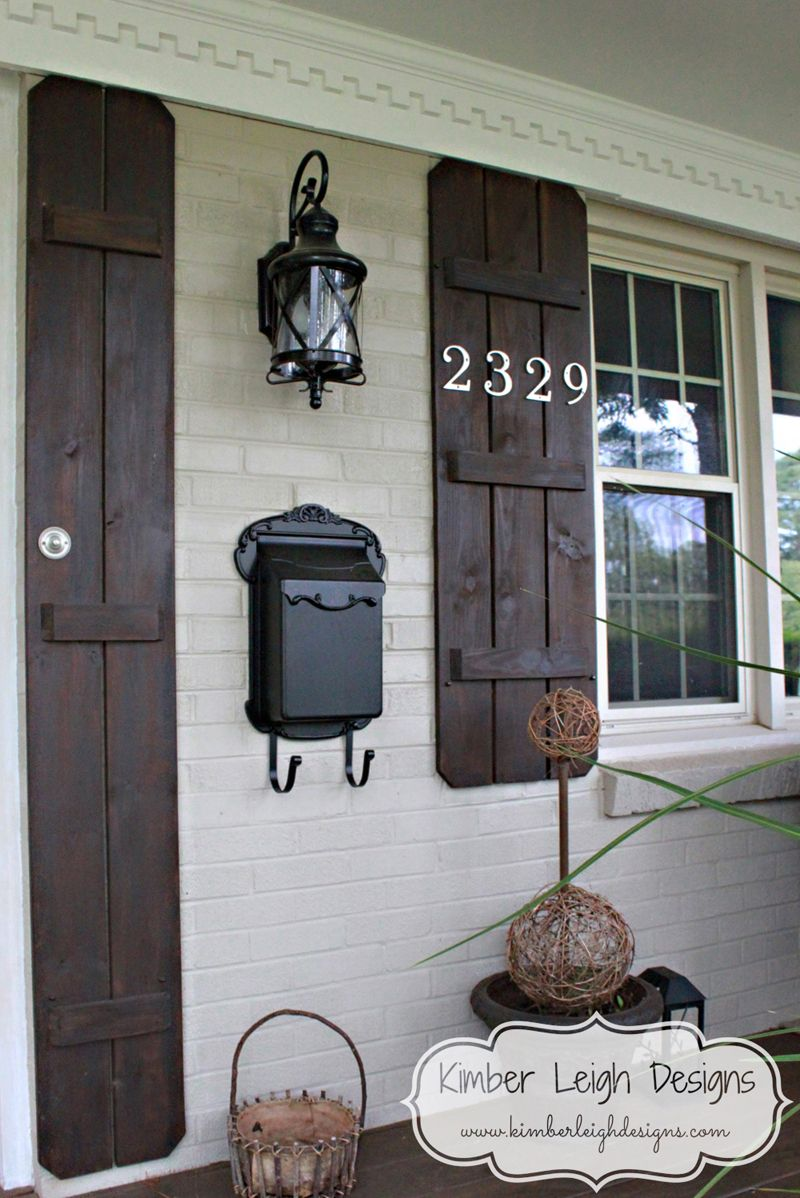 Diy Board And Batten Shutters Things To Make House