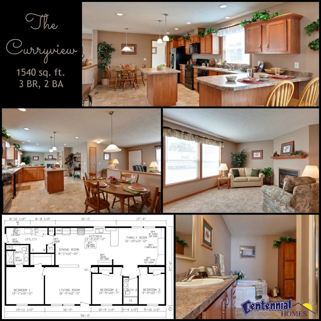 The Curryview 3 BR 2 Bath Home With An Open Floor Plan Featuring