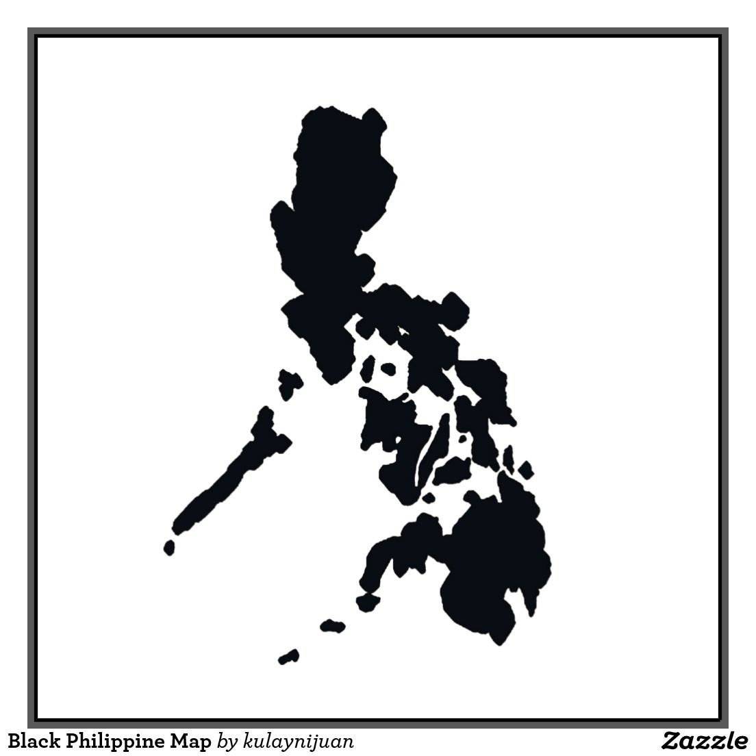 Philippine Map Black black and white map of the philippines   Google Search