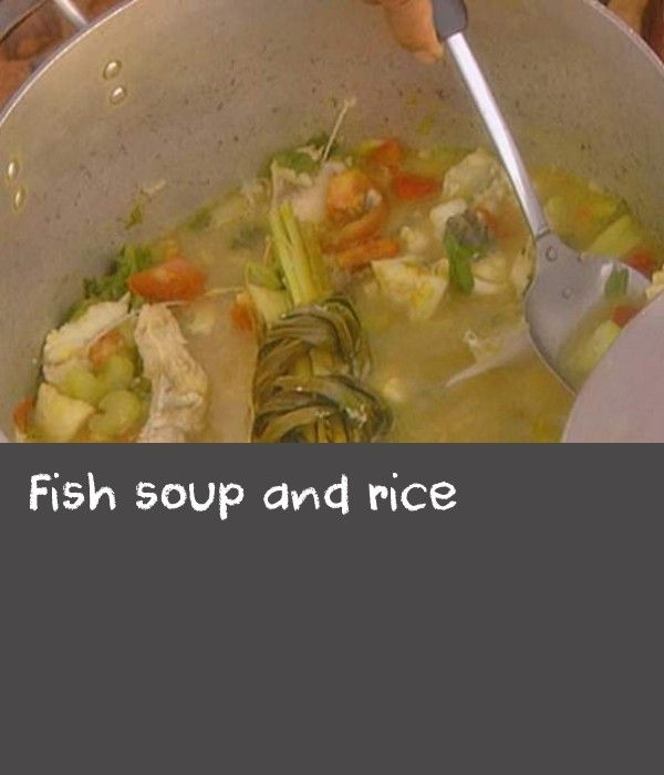 Fish Soup And Rice Recipe Fishball Recipe Fish Recipe Summer Recipes