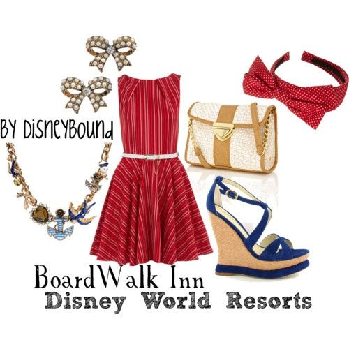 Inspiration: Fashion Disney BoardWalk
