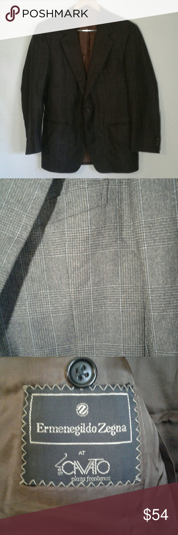 Zegna sizing runs different than american please refer to  size chart for also ermenegildo sport coat wool  very nice used rh pinterest