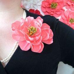 This step by step photo tutorial will teach you how to make flat diy crepe paper flowers this step by step photo tutorial will teach you how to make flat backed crepe paper flowers perfect for parties mightylinksfo