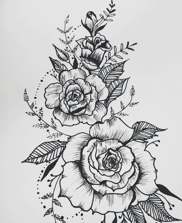 Rose And Bud Desert Flowers Sweet Perfume Desert Rose