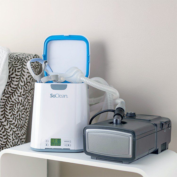 Soclean 2 Cpap Cleaning Machine Sleep Apnea Cpap Mask What Causes Sleep Apnea