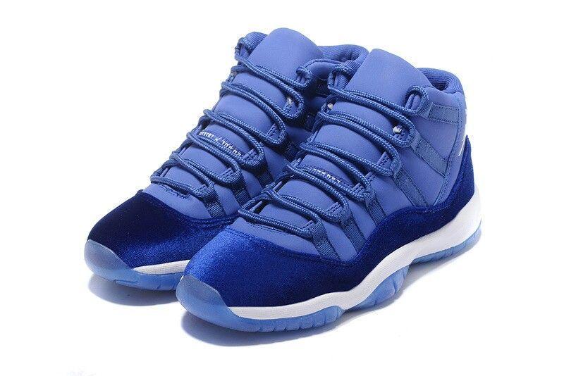 6b818533ec6 Air Jordan (Retro) 11 Blue Suede | Air jordans | Jordans, Air ...