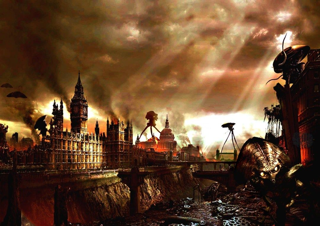 The War Of The Worlds Post Apocalyptic City Post Apocalyptic