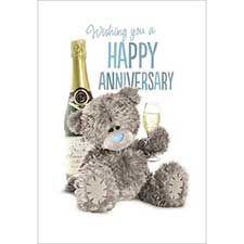 Happy Anniversary Me To You Bear Card Tatty Teddy Teddy Bear Pictures Happy Anniversary