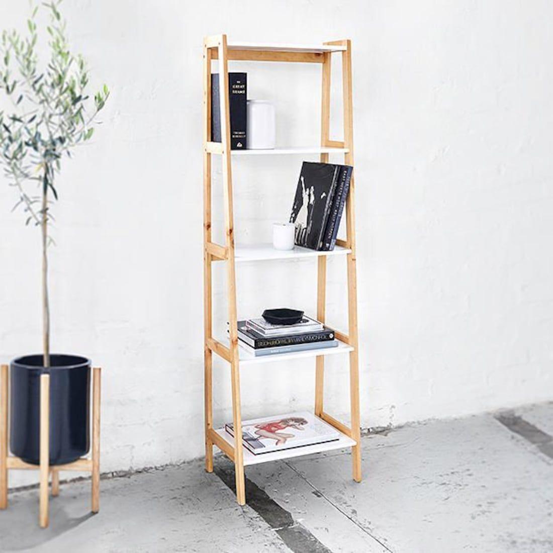 Bailey 5 Tier Shelf Simple Apartment Decor Shelves Home Decor