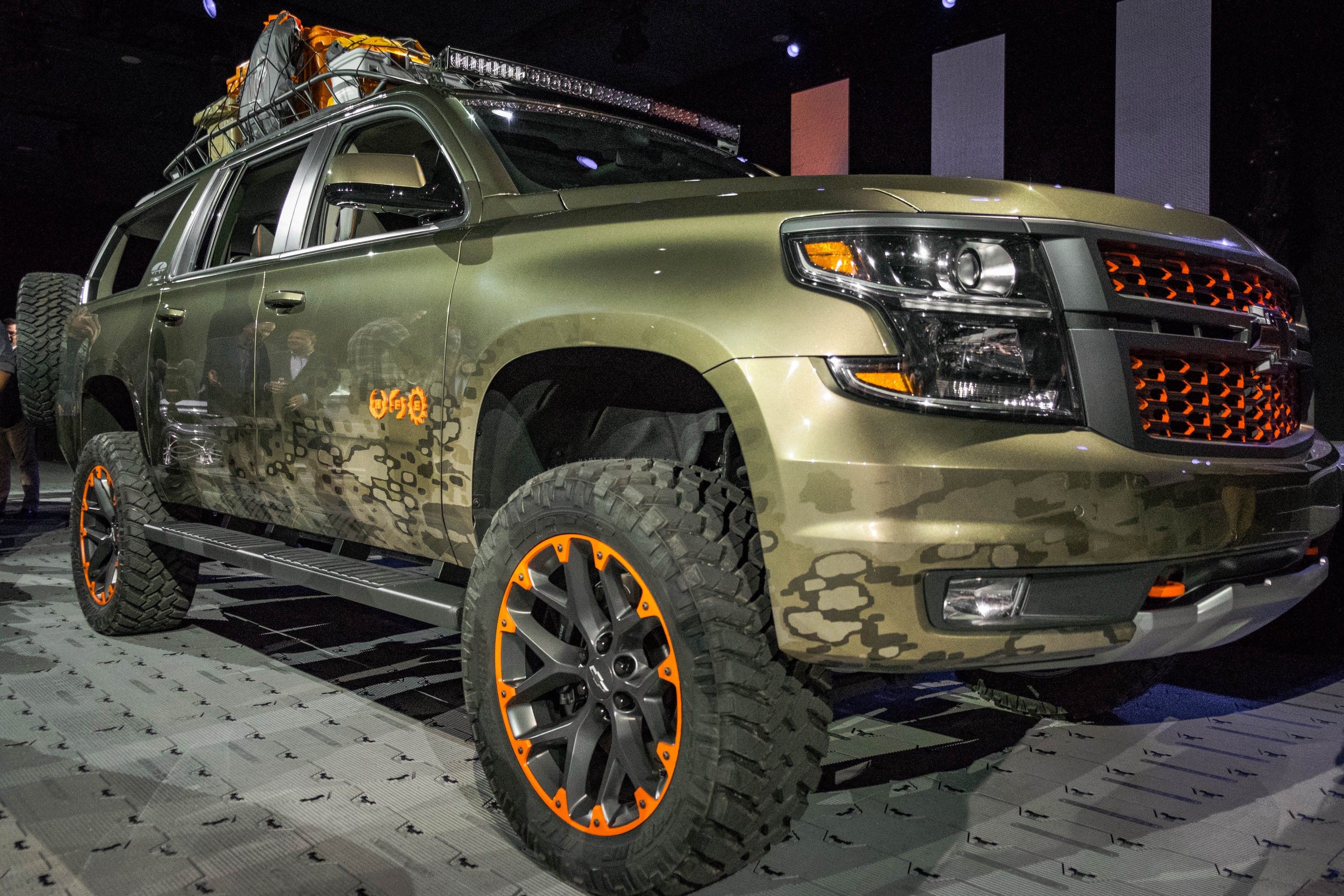 Straight from SEMA 2017 the Luke Bryan Special Edition Chevrolet