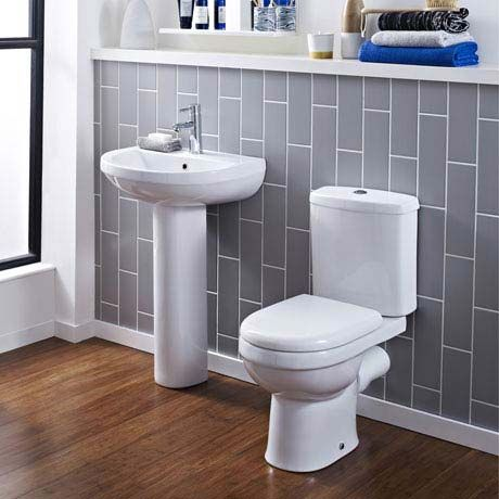 Sofia 4 Piece Modern Bathroom Suite Victorian Plumbing Co Uk Modern Bathroom Close Coupled Toilets Simple Bathroom Designs