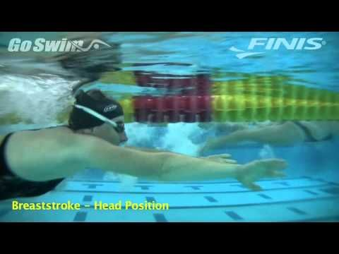 ▶ Breaststroke - Head Position - YouTube
