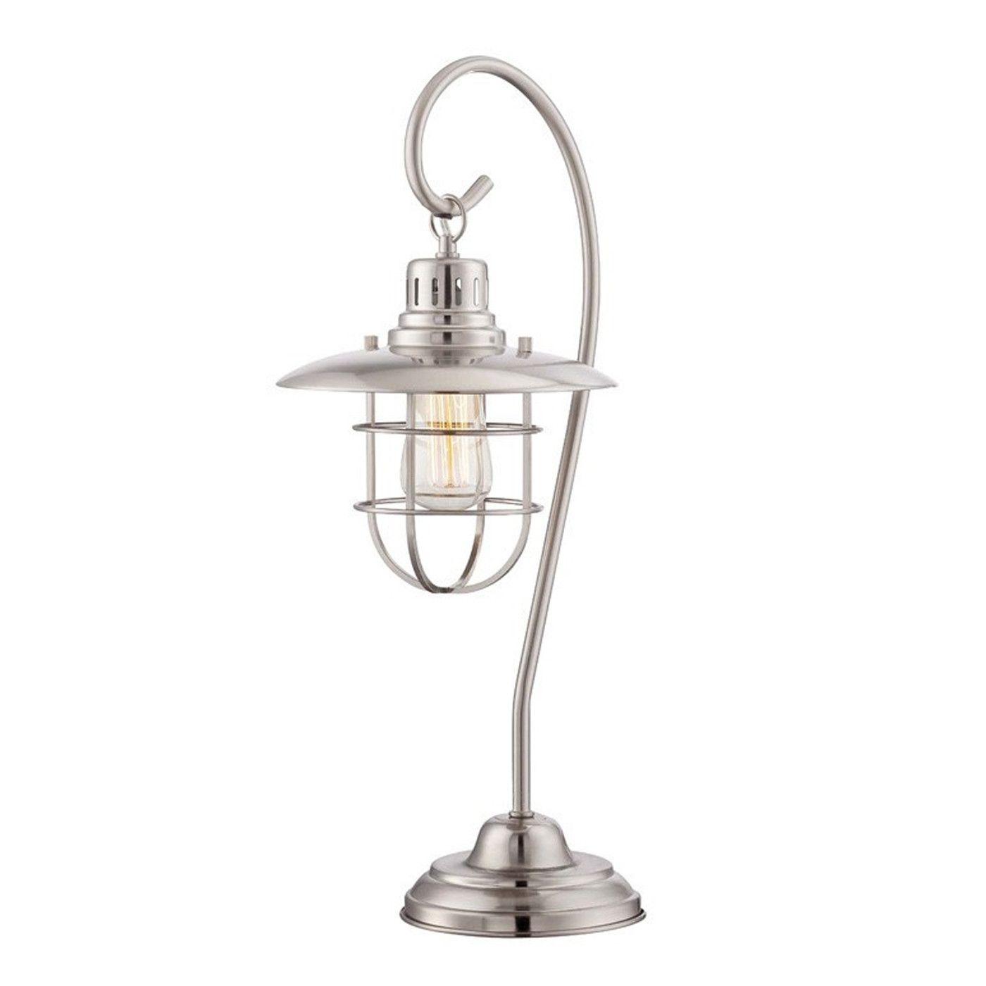 This sweet antique looking lamp will remind of a time when people tied keys to…