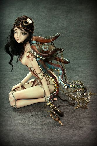 Fantasy   Whimsical   Strange   Mythical   Creative   Creatures   Dolls   Sculptures   Doll , one of a kind dolls by Aidamaris Roman Forgotten Hearts   Flickr