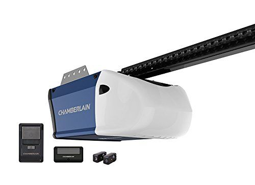 Chamberlain Pd510 1 2 Chain Drive Garage Door Opener With Best Garage Door Opener Best Garage Doors Garage Doors