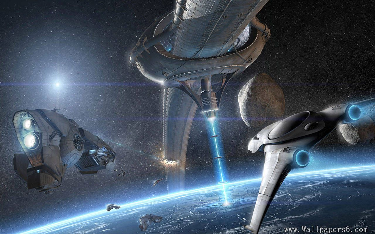 Outer Space War Fantasy Wallpapers Free Download Wallpapers Windows Xp Desktop Wallpapers Windows7 Desktop Wal Sci Fi Wallpaper Space Fantasy Concept Ships